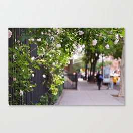 Friday Evening in the West Village Canvas Print