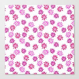 Bright Winter Flowers Canvas Print