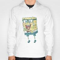 spongebob Hoodies featuring Spongebob Squarepants by gem ☮
