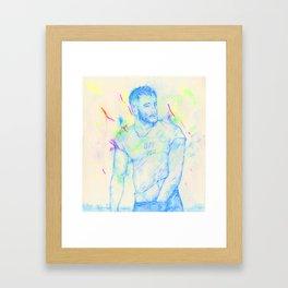 Boys: Off you Framed Art Print
