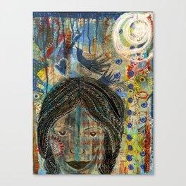 D-Girl Canvas Print