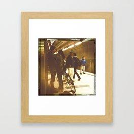 Metro Teens Framed Art Print