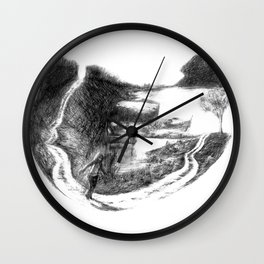Here To There Wall Clock