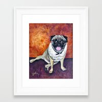 woody Framed Art Prints featuring Woody by gretzky