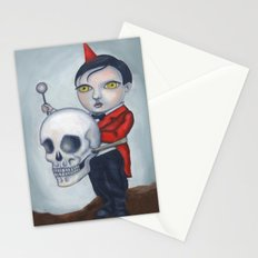 Head Banger - Carnival Sideshow Freak Stationery Cards
