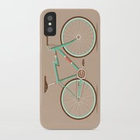 bicycle iPhone & iPod Cases featuring Bicycle by Daniel Mackey