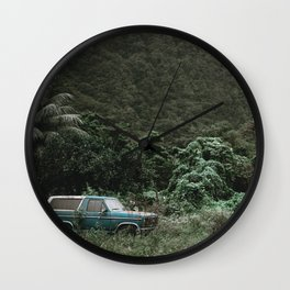 Summer Road Trip / Kaui, Hawaii Wall Clock