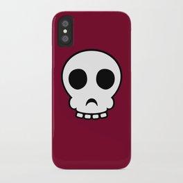 Goofy skull iPhone Case