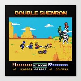 Double Shenron Canvas Print