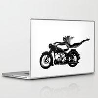 nirvana Laptop & iPad Skins featuring Nirvana by William Michael