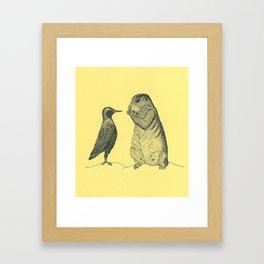 The Big Secret Framed Art Print
