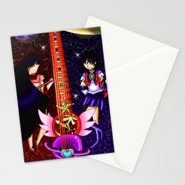 Fusion Sailor Moon Guitar #27 - Sailor Mars & Sailor Saturn Stationery Cards