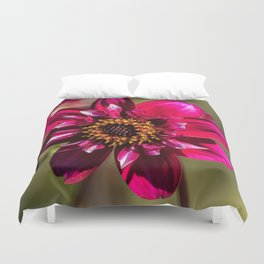 Darling Dahlia Duvet Cover