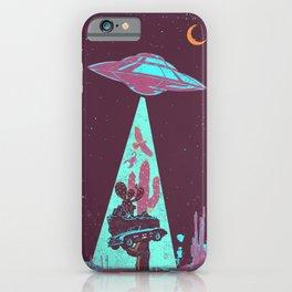 DESERT UFO iPhone Case
