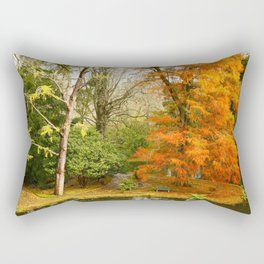 Willow in Autumn colors Rectangular Pillow