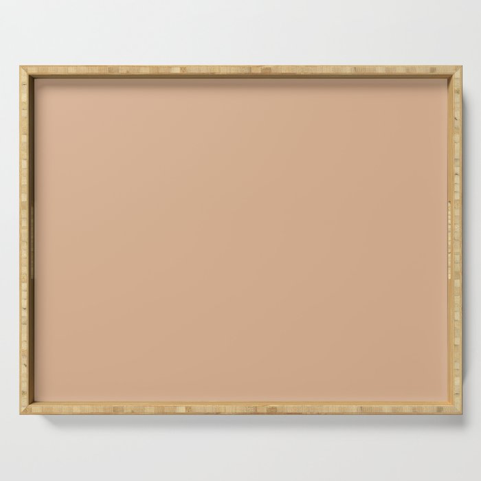 Sheepskin Beige | Solid Colour Serving Tray