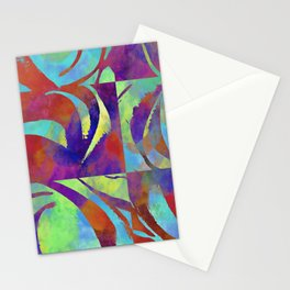 Color move III Stationery Cards