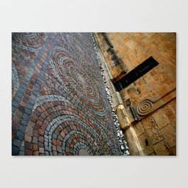 Working with Angles Canvas Print