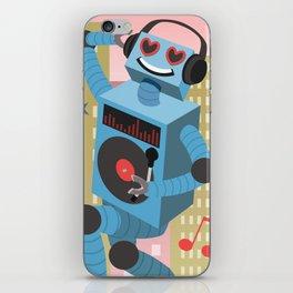 Robot DJ iPhone Skin