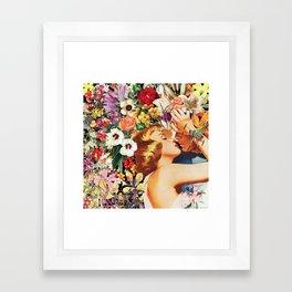Floral Bed 1 Framed Art Print