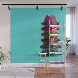 Hat Mountain Wall Mural