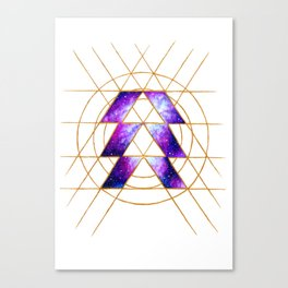 Nebula Hunter Sigil Canvas Print
