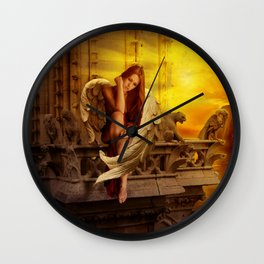 Nothing To Defend Wall Clock
