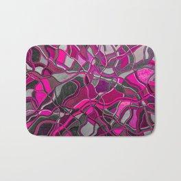 Abstract #8 - V - Magenta Pop Bath Mat