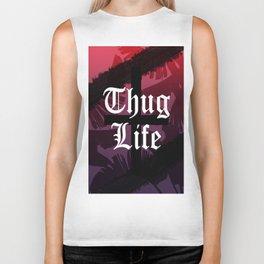 Thug Life // Sunset Colors Biker Tank