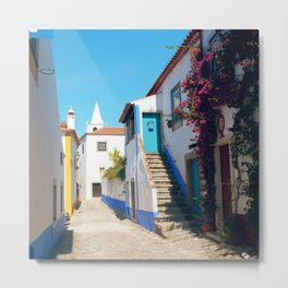 Obidos, Portugal (RR 175) Analog 6x6 odak Ektar 100 Metal Print