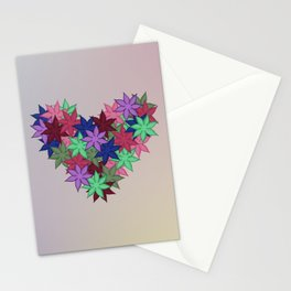 A Heart of Flowers - Breathe Me In - 57 Montgomery Ave Stationery Cards