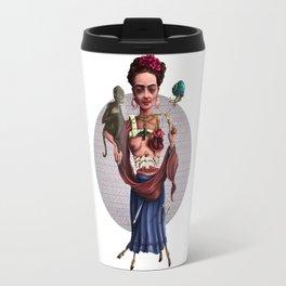 The accident of Frida Kahlo Travel Mug