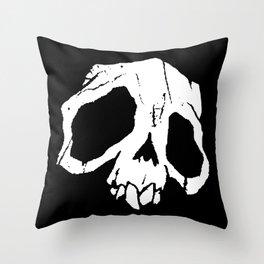 Ghoul Skull Throw Pillow