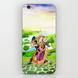 Tangled iPhone Skin