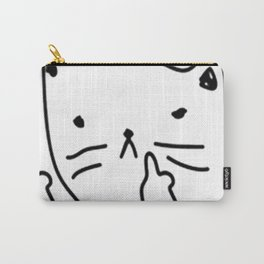 GET MEOWT OF HERE Carry-All Pouch