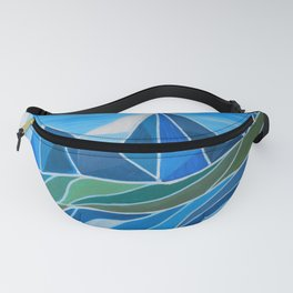 Where the river flows Fanny Pack