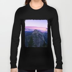 The Mountains and Purple Clouds Long Sleeve T-shirt