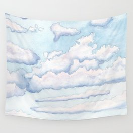 Morning Clouds Wall Tapestry
