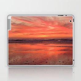 Sky on  Fire - At the Beach Laptop & iPad Skin