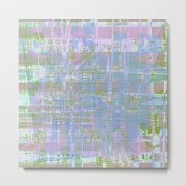Paint the wall with many colors and shapes Metal Print
