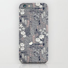 Flower garden 003 iPhone Case