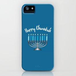 Happy Chanukah iPhone Case