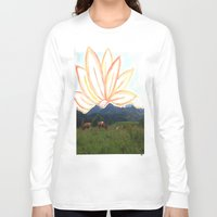 switzerland Long Sleeve T-shirts featuring switzerland by Anna Bergland