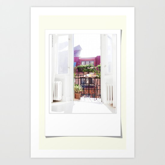 Polaroid moments Art Print