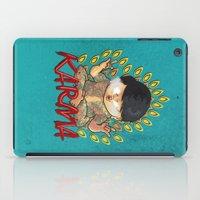 karma iPad Cases featuring Karma by Seez