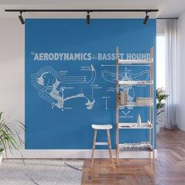 The Aerodynamics of a Basset Hound Wall Mural