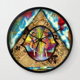 Weirdmageddon Wall Clock