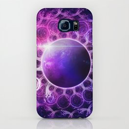 Deep Dream Fractal Mandala - Deep Space Galaxy Dreamer iPhone Case