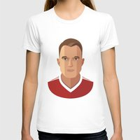 phil jones T-shirts featuring Phil Jones MUFC Flat Illustration by uniteeds