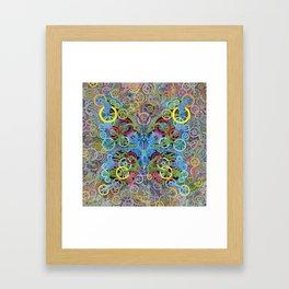 Clockwork Butterfly No. 11 Framed Art Print